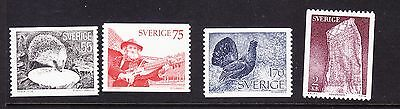 Sweden 1975 - Issues - Complete set - MNH