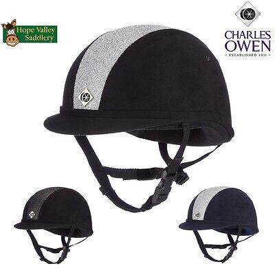 Charles Owen Sparkly YR8 Riding Hat **FREE UK Shipping**