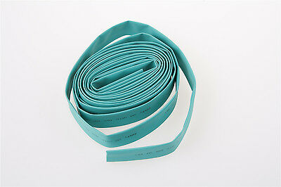 Tubing Sleeve Cable Wrap 12mm Heat Shrinkable Tube 2M Green