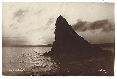 ORKNEY Solitude, RP Postcard by Camburn, Unused