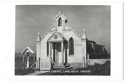 ORKNEY The Italian Chapel, Lang Holm, RP Postcard Unused