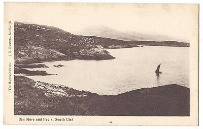 SOUTH UIST Ben more and Hecla, Old Postcard Unused