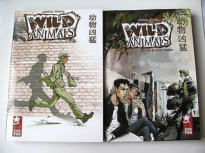 Wild Animals -T 1,t 2 -Serie Complete -Manga- Song Yang