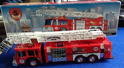 Texaco Aerial Tower Fire Truck 95Th Anniversary Edition New