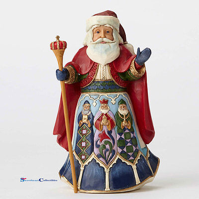 Jim Shore 4053710 Around the World Spanish Santa