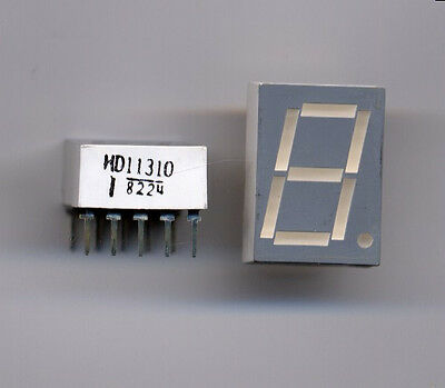 Orange LED Numeric 7 Segment Display - 4 pcs for $2