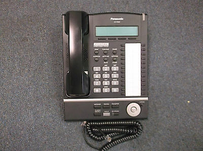 Panasonic KX-T7633 B Digital Display Speaker Telephone Black KX-TDA50 KX-TDA100