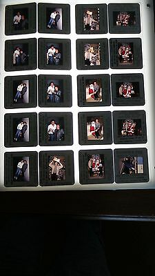Daniel McVicar BOLD AND THE BEAUTIFUL CAST LOT OF 35MM SLIDE TRANSPARENCY PHOTO