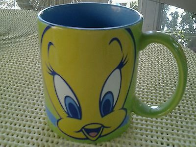 Vintage Tweety Bird MUG Warner Bros studio store -1998 so cute!!!