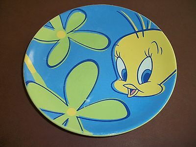 Vintage Tweety Bird PLATE Warner Bros studio store -1998 so cute!!!