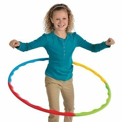 Hula Hoop Adjustable Portable Slot Together Childrens Kids Adult Sport Aerobics
