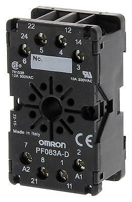 RELAY SOCKET DIN RAIL 8PIN - PF083A-D.2 (Fnl)