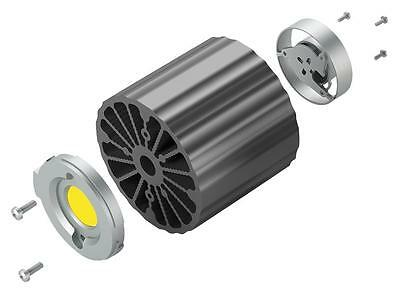 HEAT SINK W/ FAN 157L/MIN 75MM SCREW - LA LED 68 75 SA (Fnl)