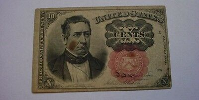 1874   10 Cent Fifth Issue Fractional Currency US Obsolete Note