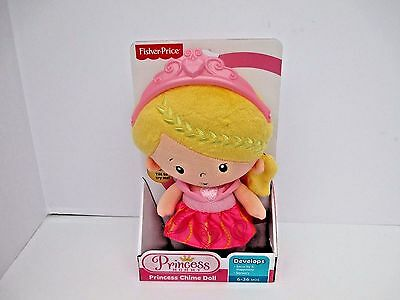 Fisher-Price Princess Mommy Chime Doll Pink MIB