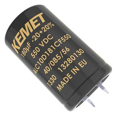 Electrolytic Capacitor, Long Life, 220 µF, 550 V, ALC10 Series, 15000 hours @ 85