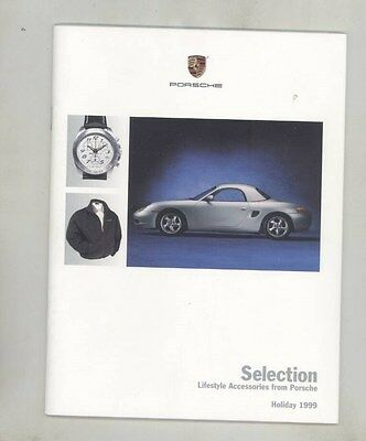 1999 Porsche Clothing Jackets Models Toys Watch Luggage Brochure d1024
