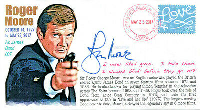 COVERSCAPE computer generated actor Roger Moore Memorial event cover