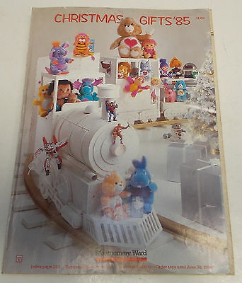 vintage 1985 montgomery ward CHRISTMAS WISH BOOK CATALOG star wars barbie he man