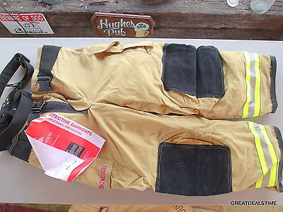 Globe 46x30 GxTreme Trouser w/ Suspenders Turnout Gear Bunker Pants NEW IN BOX