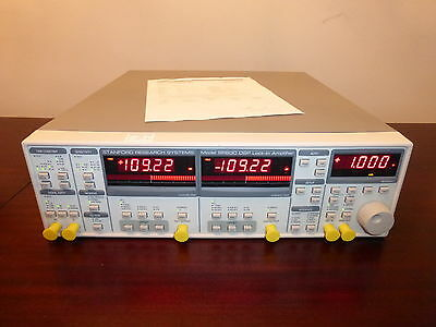 Stanford Research SR830 100 kHz DSP Lock In Amplifier - CALIBRATED!