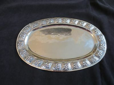 Antique SANBORNS Mexican Solid Sterling Silver Serving Try 432 Grams