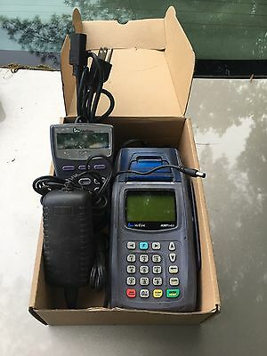 VERIFONE NURIT 8400 CREDIT CARD READER PAYMENT TERMINAL With Pin Pad