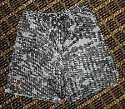 New Mens Xl Loose Under Armour Camo Camouflage Athletic Shorts