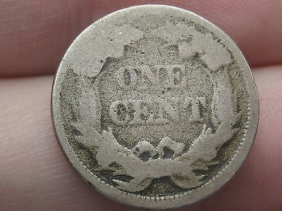1856-1858 Flying Eagle Penny Cent, Reverse Die Cud??