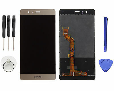 For Gold Huawei P9 Standard EVA-L09 LCD Display Touch Screen Digitizer Assembly