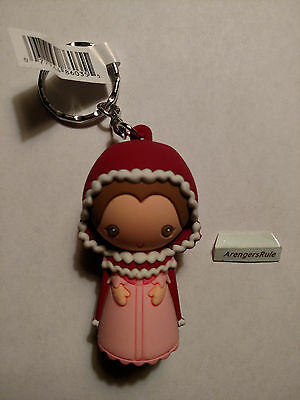 Disney Princess Beauty and the Beast Figural Keyring Series Belle Winter