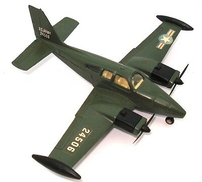 Dinky No. 712 Us Army T.42A Beechcraft Baron - Mint Rare!