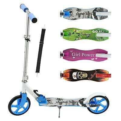 Cityroller Kinderroller Aluminium Scooter Roller Tretroller Big Wheel ArtSport®
