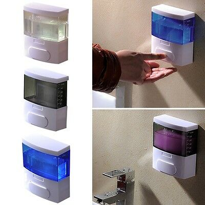 Latest Soap Dispenser Simple Style Manual Wall Mount Bathroom Liquid Pump Bottle