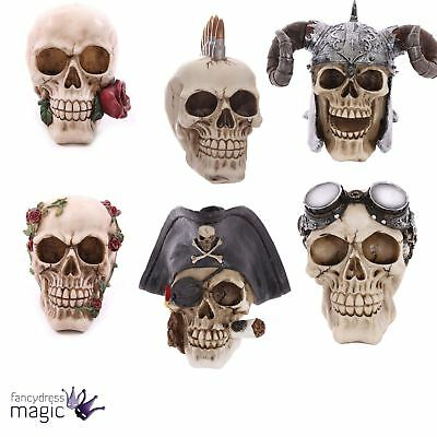 Gothic Pagan Skull Horror Wiccan Decoration Ornament Figurine Home Office Gift