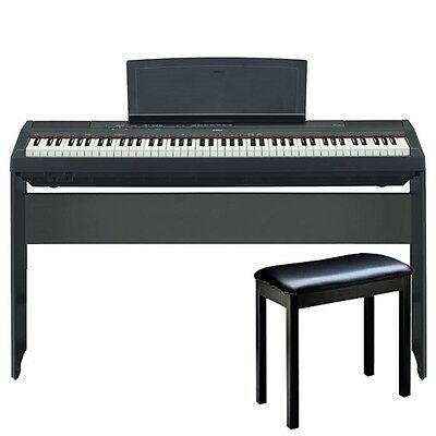 Yamaha P115B Digital Piano Package - Black