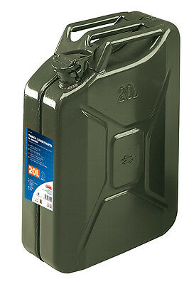 Tanica Carburante Tipo Militare In Metallo - 20 L Lampa