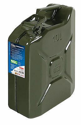Tanica Carburante Tipo Militare In Metallo - 10 L Lampa