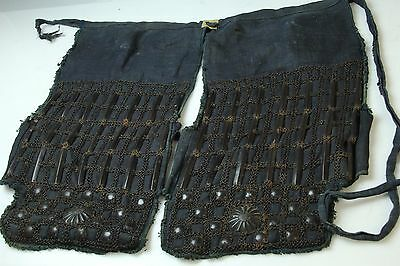 Japanese Early Edo Samurai Iron Armor Yoroi Haitate M082