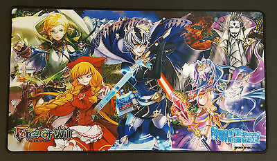 Force of Will Playmat - Curse of the Frozen Casket - CCG TCG Play Mat - New