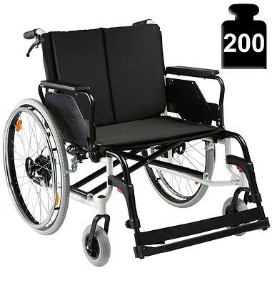 Fauteuil roulant pliable Caneo XXL