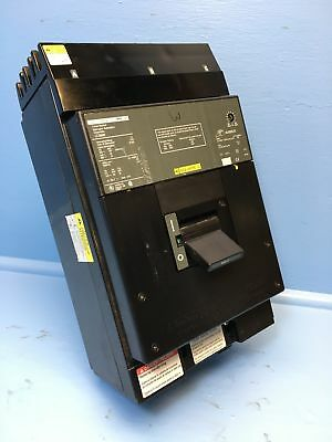 Square D I-Line LC36600 600A Circuit Breaker Green S3 Type LC-36600 600 Amp HACR