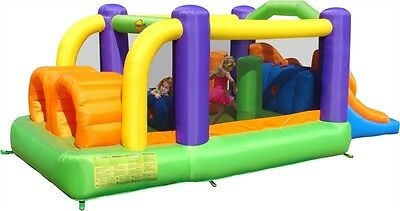 Duplay 18.5ft x 8.5ft Obstacle Course Bouncer - 9063