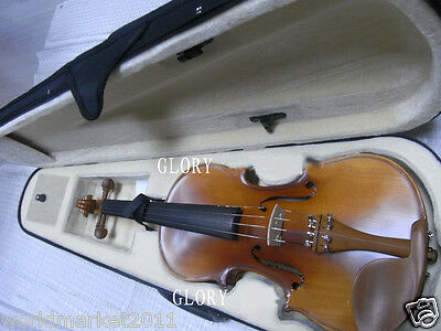 #6 Solid Wood Handmade 4/4 Size Professional Musical Instruments Violin