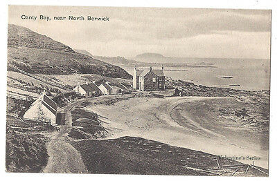 CANTY BAY Near North Berwick, Old Postcard by Valentine, Unused