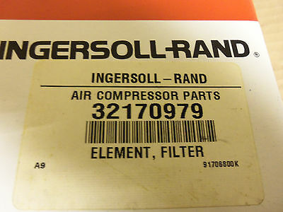 New Ingersoll Rand 32170979 Air Compressor Filter Element