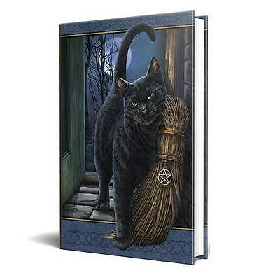 Lisa Parker's A Brush With Magick: Black Cat, Besom & Pentagram Book of Shadows!