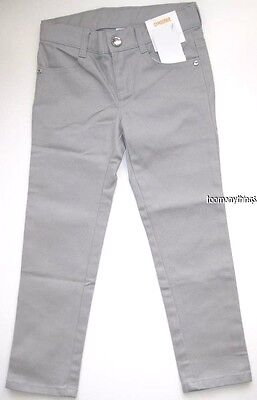 Gymboree Color Happy Pants Size 7 New Gray Jeans Skinny Girls
