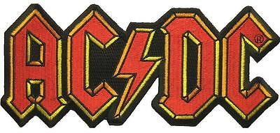 "Ac/dc Riesen Aufbügler / Embroidery Patch # 45 ""logo"""