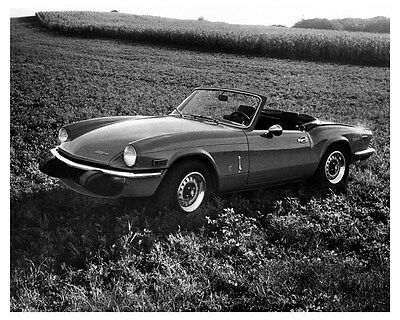 1974 Triumph Spitfire 1500 Factory Photo uc2854